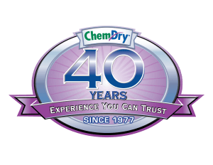 Chem-Dry 40 Years of Experience Graphic