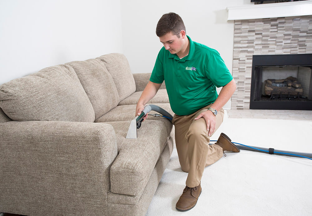 tech performing upholstery cleaning provo ut