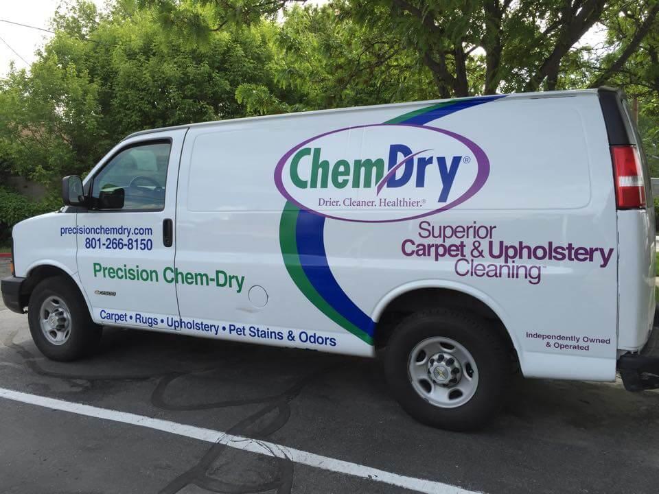 precision chem-dry cleaning van