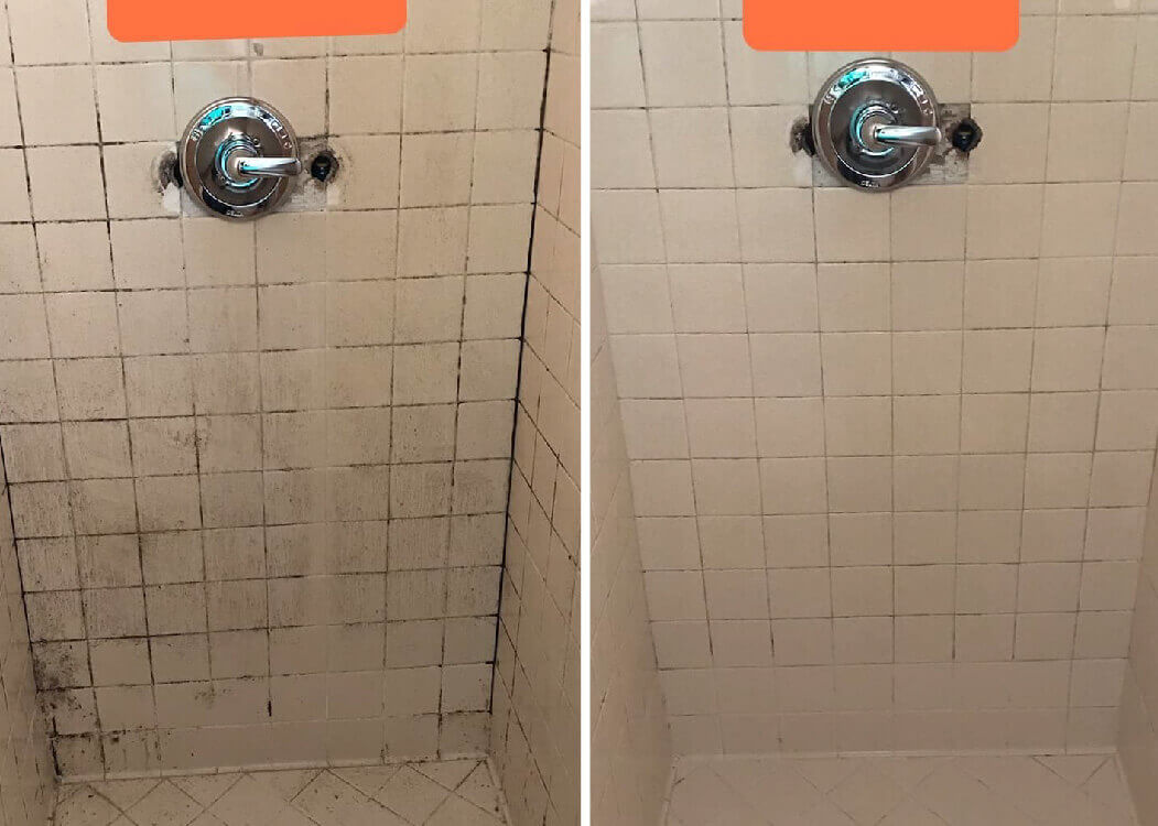 before and after tile cleaning provo ut